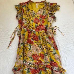 Anthropology Midi Dress